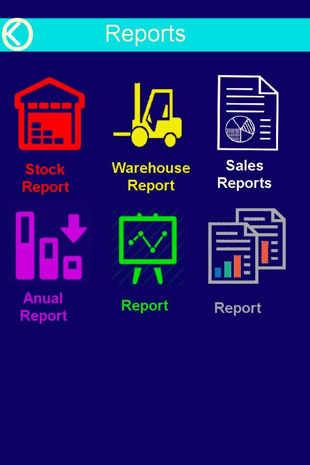 mobile report erp